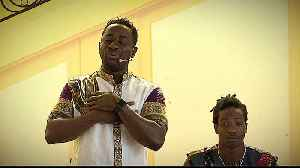 From Ivory Coast to France, refugee tells story in music [Video]