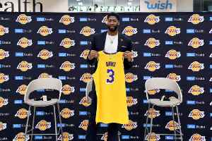 Anthony Davis Will Wear No. 3 for Lakers After Issues With Nike [Video]