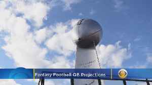 Fantasy Football 2019 QB Projections [Video]
