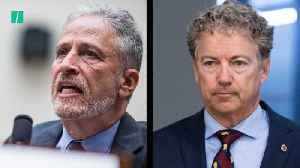 News video: Jon Stewart Blasts Sen. Rand Paul (R-KY) On 9/11 Victim Compensation Bill