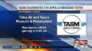 TASM featuring new exhibit for moon landing anniversary [Video]