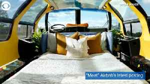 WEB EXTRA: Wienermobile Airbnb Stay [Video]