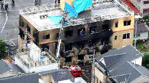 33 killed in arson attack at Japan anime studio