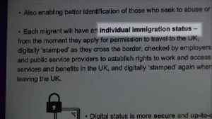 New migrants to be tracked by digital IDs post-Brexit [Video]