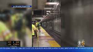 Drainage System Failure Floods San Francisco's Embarcadero Station, Disrupting Commute [Video]