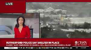 Shelter-In-Place Warnings Issued After Chemical Spill In East Rutherford, New Jersey [Video]