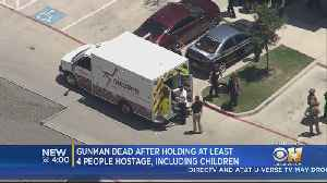 Suspect Dead After Using Child As Human Shield In Fort Worth Hostage Standoff [Video]