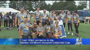 Team WBZ Competes In Boston Children's Hospital Corporate Cup [Video]