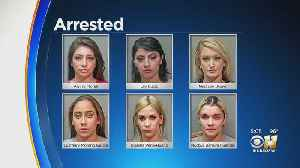 Fort Worth Police Arrest 6 Dancers, Accused Of Public Lewdness [Video]