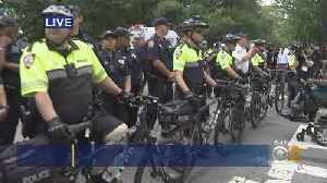Protesters Blocking Traffic Outside Gracie Mansion [Video]
