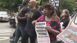 Justice For Eric Garner Rally Outside Of Gracie Mansion [Video]