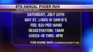 Poker Run in Hancock County: Participate by land or sea! [Video]