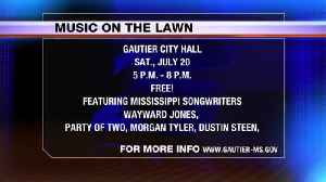 THIS WEEKEND: Music on the Lawn in Gautier [Video]