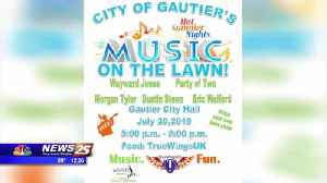 Music on the Lawn: Gautier City Hall [Video]