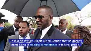 R. Kelly Is Happy to Be in Solitary Confinement [Video]