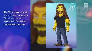 Jason Momoa to Appear on 'The Simpsons' [Video]