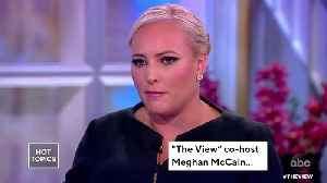Meghan McCain Reveals She Had A Miscarriage [Video]