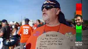 Wacko for Flacco? Broncos fans weigh in on new QB [Video]