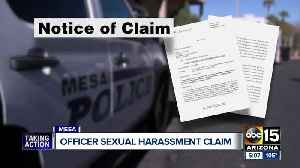 Mesa police officers file claim with city over sergeant's sexual harassment [Video]