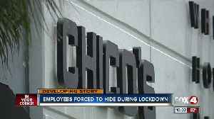 Employees forced to hide during lockdown [Video]