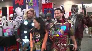 Cosplay highlights as Comic-Con opens [Video]