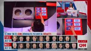 CNN Pulls Names Out of Boxes to Determine Democratic Debate Line-up [Video]