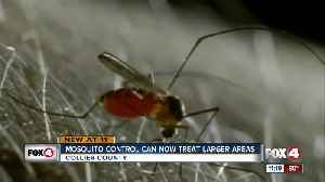 Collier County Mosquito Control can now treat larger areas with new tool [Video]