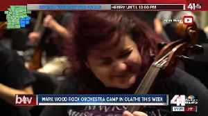 Mark Wood Rock Orchestra Camp in Olathe [Video]