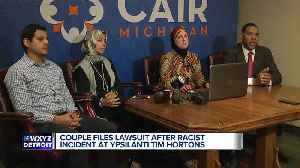 Muslim-American couple files civil rights complaint for incident at Tim Hortons in Ypsilanti [Video]