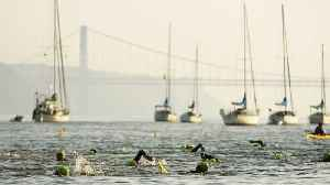News video: New York City Triathlon Canceled Due To Major Heat Wave
