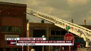 Firefighters on scene of business fire in Milwaukee [Video]