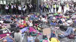 Extinction Rebellion calls for a 'tax strike' in London [Video]