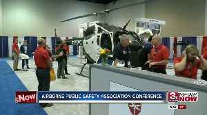 Annual Airborne Public Safety Association Conference held in Omaha [Video]