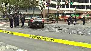Driver Detained Following Deadly Hit-and-Run in Downtown S.F. [Video]