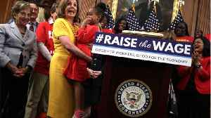 House Passes Legislation To Raise Minimum Wage To $15