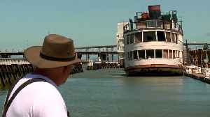 Old, Rusting Ferry Blocks Commercial Boater from Exiting Vallejo Marina [Video]