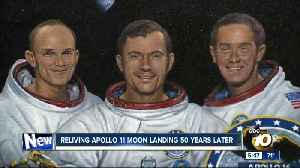 Reliving Apollo 11 moon landing 50 years later [Video]