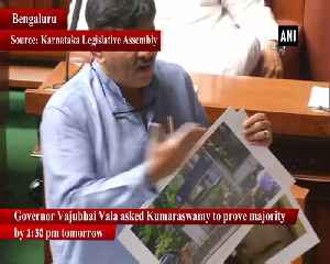 Kumaraswamy reluctant to take up floor test because he lost confidence Yeddyurappa [Video]