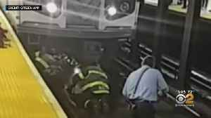 Man Survives Fall Onto Tracks, Train Passing Over Him [Video]