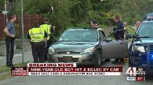 9-year-old Calif. boy killed in a pedestrian accident in east Kansas City [Video]