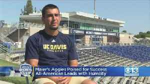 Maier's Aggies Poised For Success; All-American Leads With Humility [Video]