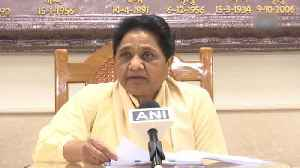Mayawati attacks BJP after brother's property attached [Video]
