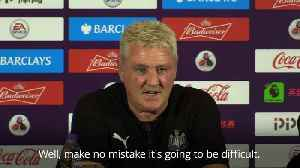 Steve Bruce: I'm not everyone's cup of tea, but I'll take Newcastle forward [Video]
