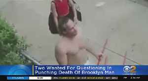 Duo Sought After Deadly Sucker Punch [Video]