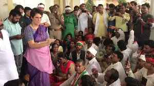News video: Priyanka prevented from Sonbhadra visit, slams UP govt