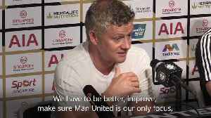 Solskjaer: Next season will be a closer between top six [Video]