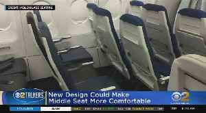 New Design For Airplane Middle Seats [Video]