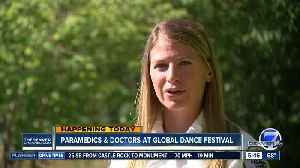 Paramedics & doctors will be at Global Dance Festival [Video]
