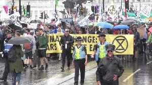 School strikers and Extinction Rebellion march on UK Parliament in latest climate protest [Video]