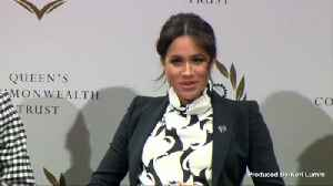 News video: Meghan Markle is Sporting a New Up-do